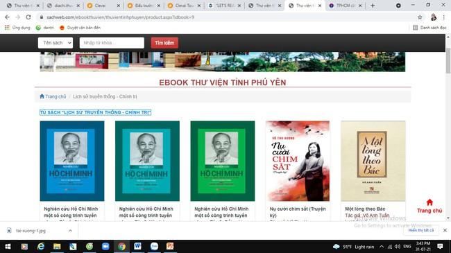Thư viện tỉnh Phú Yên đẩy mạnh việc phục vụ đọc sách trực tuyến - Ảnh 2.
