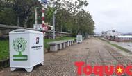 Thừa Thiên – Huế: Tiếp nhận thùng rác thông minh phục vụ người dân, cũng như khách du lịch