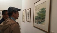 Khai mạc triển lãm tác phẩm nghệ thuật văn hóa truyền thống Việt – Trung