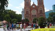 Tổ chức đón đoàn khách quốc tế và nội địa đầu tiên đến Thành phố Hồ Chí Minh năm 2019
