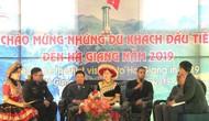 Hà Giang: Chào mừng những vị khách nước ngoài đầu tiên của năm 2019