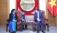 Bộ trưởng Nguyễn Ngọc Thiện tiếp Đại sứ Sri Lanka