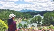 Vườn hoa Thủy Tạ Đà Lạt dừng đón khách