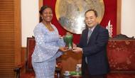 Thứ trưởng Lê Khánh Hải tiếp Đại sứ nước Cộng hòa Gana tại Malaysia kiêm nhiệm Việt Nam
