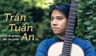 Thần đồng guitar Trần Tuấn An biểu diễn tại Hà Nội
