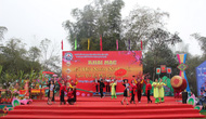 Lạng Sơn: Tưng bừng lễ hội hoa đào Xuân Kỷ Hợi