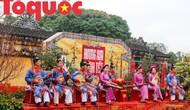 Những hình ảnh tái hiện không gian Tết xưa tại Hoàng cung Huế
