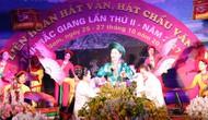 Tổ chức Liên hoan hát Văn, hát Chầu văn tỉnh Bắc Giang lần thứ III, năm 2019