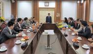 Bộ trưởng Nguyễn Ngọc Thiện trao quyết định bổ nhiệm nhân sự