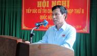 Bộ trưởng Nguyễn Ngọc Thiện tiếp xúc cử tri Thị xã Hương Trà