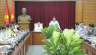 Bộ trưởng Nguyễn Ngọc Thiện làm việc với lãnh đạo tỉnh Thừa Thiên Huế