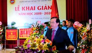 Thứ trưởng Tạ Quang Đông dự lễ Khai giảng năm học mới tại Trường Đại học TDTT Bắc Ninh
