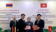 Thứ trưởng Lê Quang Tùng tiếp Đại sứ Đặc mệnh Toàn quyền Cộng hòa Armenia tại Việt Nam