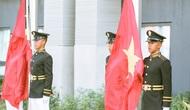 Tổ chức lễ thượng cờ của Đoàn Thể thao Việt Nam tham dự SEA Games 30