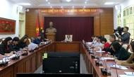 Thứ trưởng Trịnh Thị Thủy làm việc với Ban soạn thảo, Tổ biên tập xây dựng Đề án