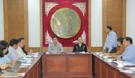 """Thứ trưởng Lê Quang Tùng làm việc với BTC Tuần """"Đại đoàn kết các dân tộc – Di sản Văn hóa Việt Nam"""""""