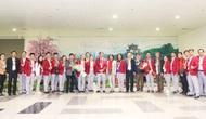 Đoàn Thể thao Việt Nam tham dự SEA Games 30 trở về nước