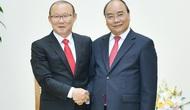 Thủ tướng Nguyễn Xuân Phúc gửi thư chúc mừng, động viên HLV Park Hang-seo