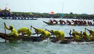 Lễ hội đua thuyền vùng sông nước ở Quảng Ngãi