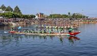 Sôi nổi Hội đua thuyền đầu xuân Kỷ Hợi các tỉnh Tây Nguyên