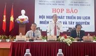 Họp báo về Hội nghị phát triển du lịch miền Trung và Tây Nguyên