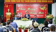 Hình ảnh Bộ trưởng Nguyễn Ngọc Thiện thăm và chúc Tết các VĐV, HLV