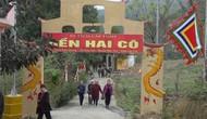 Lào Cai: Đền Hai Cô đón Bằng xếp hạng di tích lịch sử văn hóa cấp tỉnh