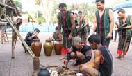 Đắk Lắk: Tổ chức Trình diễn Lễ cúng mừng lúa mới của người M'Nông Gar
