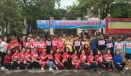 Trường Cao đẳng Văn hóa Nghệ thuật Việt Bắc tổ chức ngày chạy Olympic vì sức khỏe toàn dân năm 2019