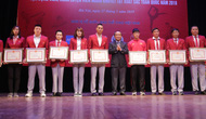 """Trao thưởng các HLV, VĐV tiêu biểu, xuất sắc tại Chương trình """"Vinh quang Thể thao Việt Nam"""""""