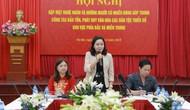Thứ trưởng Trịnh Thị Thủy: