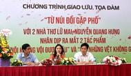 Giao lưu với hai tác giả trẻ viết về Hà Nội