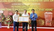 Công nhận Bảo vật quốc gia Bình gốm Đầu Rằm và Hộp vàng Ngọa Vân - Yên Tử