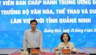 """Bộ trưởng Nguyễn Ngọc Thiện: """"Di sản chính là linh hồn, sản phẩm du lịch hàng đầu của tỉnh Quảng Ninh"""""""