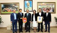 Tăng cường mối quan hệ hợp tác hữu nghị giữa bóng đá Việt Nam và Hàn Quốc