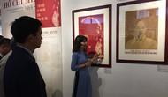 Triển lãm mỹ thuật kỷ niệm 129 năm Ngày sinh Chủ tịch Hồ Chí Minh
