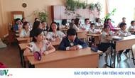 Đong đầy ý nghĩa cuộc thi Olympic tiếng Việt đầu tiên tại Kiev