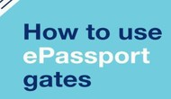 Chính phủ Anh nới rộng sử dụng cổng ePassport thêm  7 quốc gia