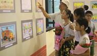 Trao giải cuộc thi Sáng tác tranh và khai mạc Triển lãm Mỹ thuật thiếu nhi tỉnh Thái Nguyên lần thứ VII