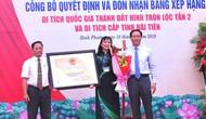 Bình Phước: Trao Bằng xếp hạng di tích khảo cổ quốc gia Thành đất hình tròn Lộc Tấn 2