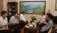 Bộ trưởng Nguyễn Ngọc Thiện thăm gia đình các cán bộ, công chức là con liệt sĩ