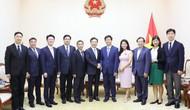 Thứ trưởng Lê Quang Tùng tiếp Bí thư Thành ủy Hàng Châu, Trung Quốc