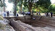 Nghiêm cấm hành vi tự ý đào bới, tìm kiếm di vật, cổ vật trong khu Di tích Văn hóa Óc Eo