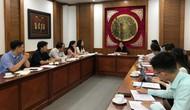 Thứ trưởng Trịnh Thị Thủy làm việc với Ủy ban Quốc gia UNESCO Việt Nam