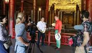 Truyền hình quốc tế làm phim quảng bá về văn hóa du lịch tỉnh Thừa Thiên Huế