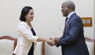 Thứ trưởng Trịnh Thị Thủy tiếp Đại sứ nước Cộng hòa Botswana tại Việt Nam