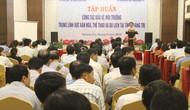 Tập huấn công tác bảo vệ môi trường trong lĩnh vực VHTTDL tại Quảng Trị