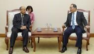 Thứ trưởng Lê Khánh Hải tiếp Đại sứ Vương quốc Ả Rập Xê Út tại Việt Nam Saud F.M.Al Suwelim