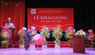 Thứ trưởng Tạ Quang Đông dự lễ khai giảng năm học 2019-2020 của trường Đại học Văn hóa Hà Nội