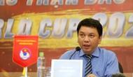 Tổng thư ký VFF Lê Hoài Anh nói gì về việc xử lý sau sự việc pháo sáng trên sân Hàng Đẫy?